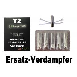 T2 - CC - ERSATZ COIL - Ersatz-Verdampfer - 5ER PACK